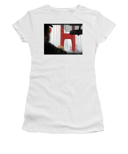 The Other Side Women's T-Shirt (Junior Cut) by Cheryl Del Toro