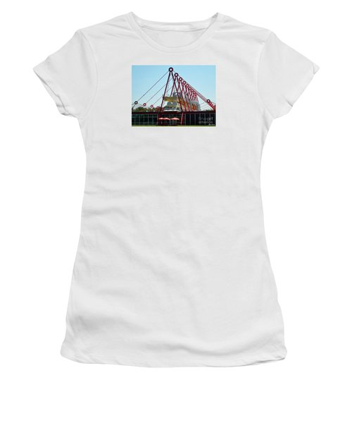 The Patscentre Women's T-Shirt (Junior Cut) by Lyric Lucas