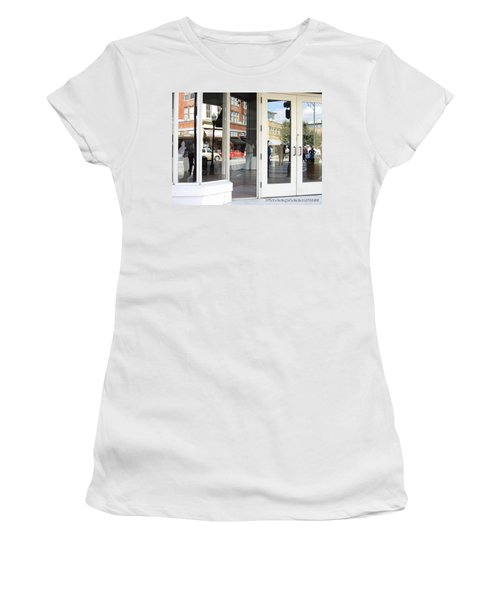 The Photographer And His Doppelganger Women's T-Shirt