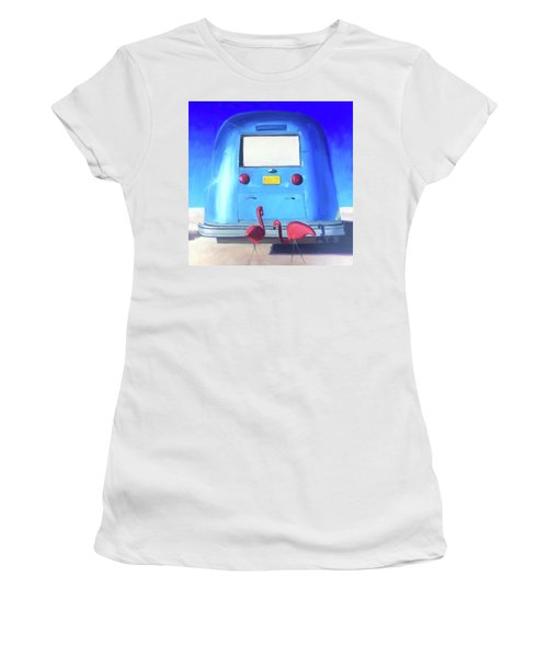 The Pink Hitchhikers Women's T-Shirt (Athletic Fit)