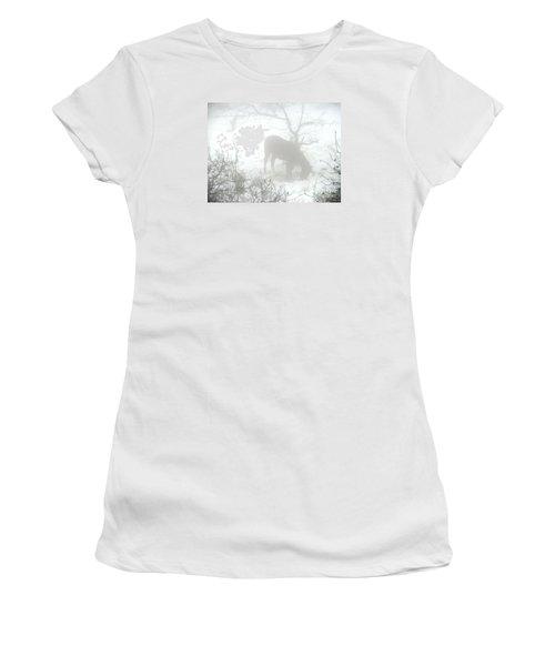 The Primal Mist Women's T-Shirt (Junior Cut) by Annemeet Hasidi- van der Leij