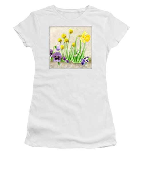 The Promise Of Spring - Dragonfly Women's T-Shirt