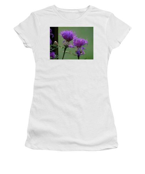 The Purple Bloom Women's T-Shirt
