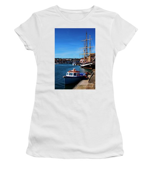 The Quayside  Women's T-Shirt (Athletic Fit)