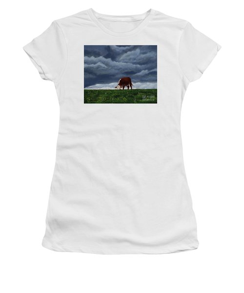 The Quiet Before The Storm Women's T-Shirt (Athletic Fit)