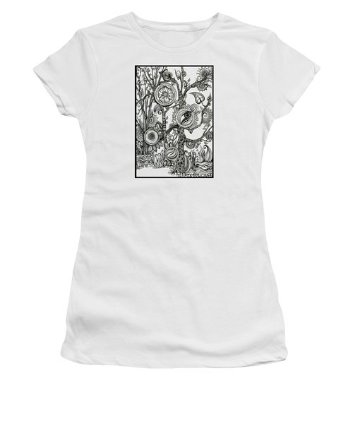 The Rainforest Women's T-Shirt (Athletic Fit)