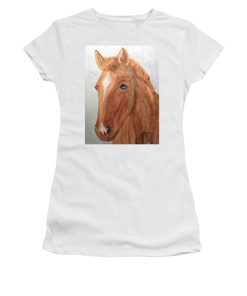 The Red Pony Women's T-Shirt (Athletic Fit)