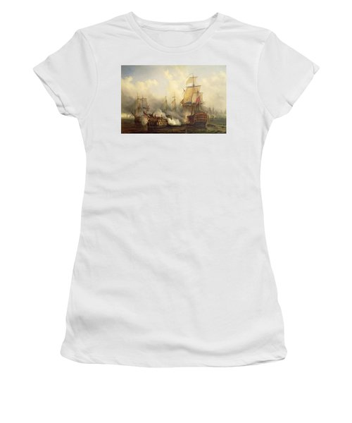 Unknown Title Sea Battle Women's T-Shirt