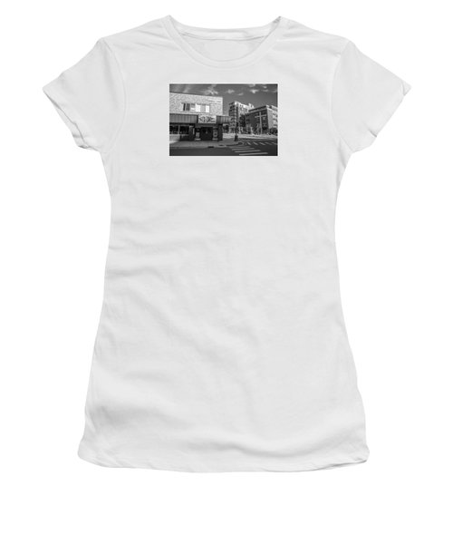 The Riv Ion Black And White Women's T-Shirt