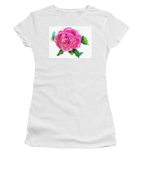 The Rose Women's T-Shirt (Junior Cut) by Beth Saffer