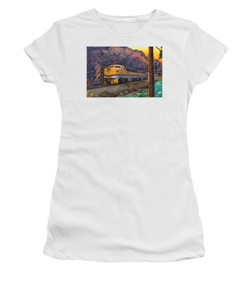 The Royal Gorge Women's T-Shirt (Junior Cut) by J Griff Griffin