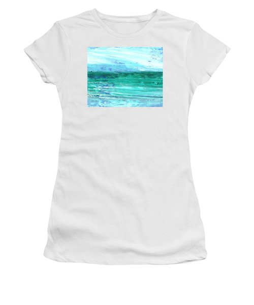 The Sea Women's T-Shirt (Athletic Fit)