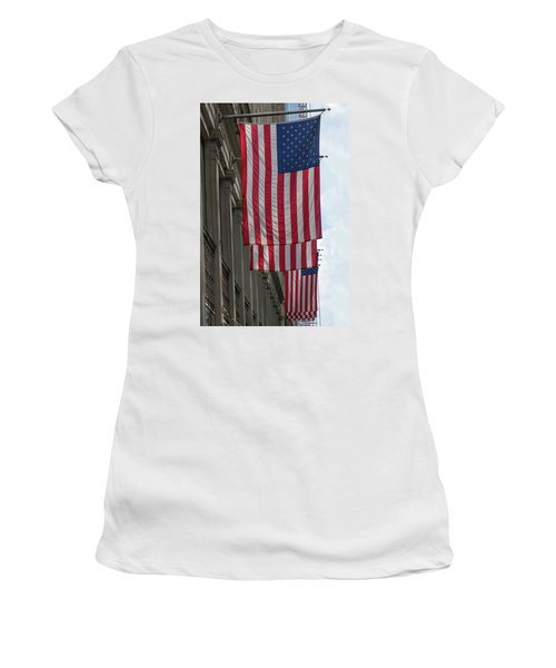 The Stars And Stripes Women's T-Shirt