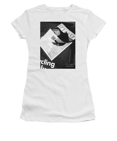 Women's T-Shirt (Athletic Fit) featuring the photograph The Stylist by Rebecca Harman