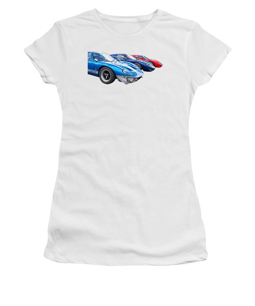 The Three Amigos - Ford Gt 40 Women's T-Shirt