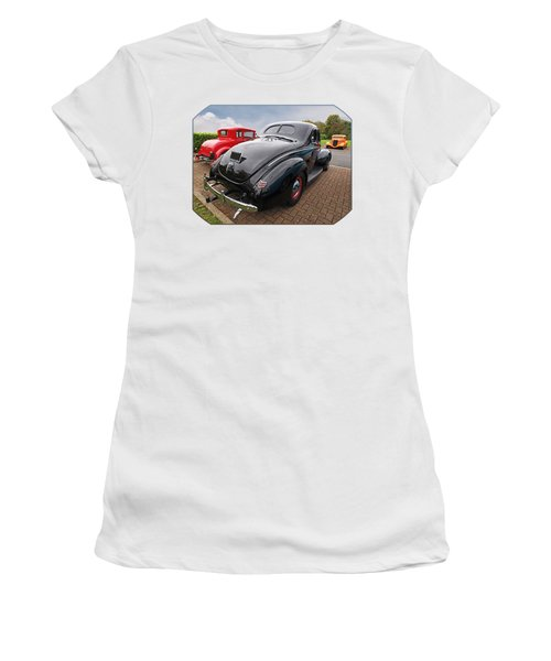 The Three Amigos - Hot Rods At Pistons In The Park Women's T-Shirt