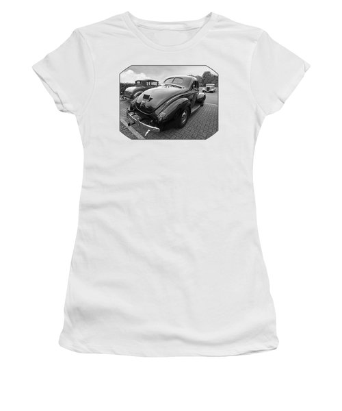 The Three Amigos - Hot Rods In Black And White Women's T-Shirt