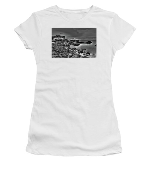 The Tide Pools At Hellnar At Low Tid Women's T-Shirt