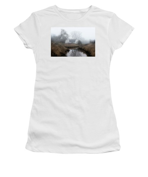 The Twin Barns Of Nisqually Women's T-Shirt (Athletic Fit)