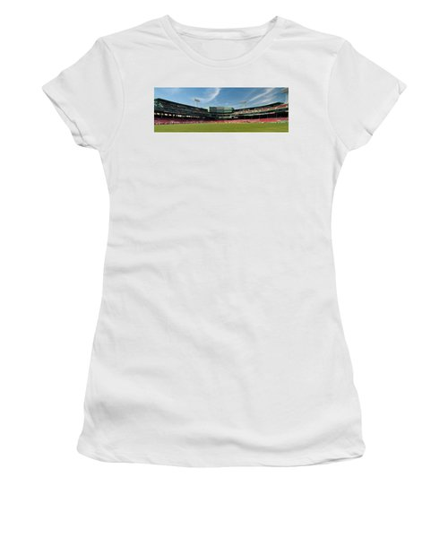 The View From Center Women's T-Shirt (Athletic Fit)