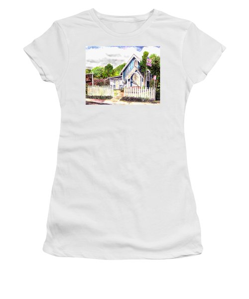 The Way Inn Women's T-Shirt (Athletic Fit)