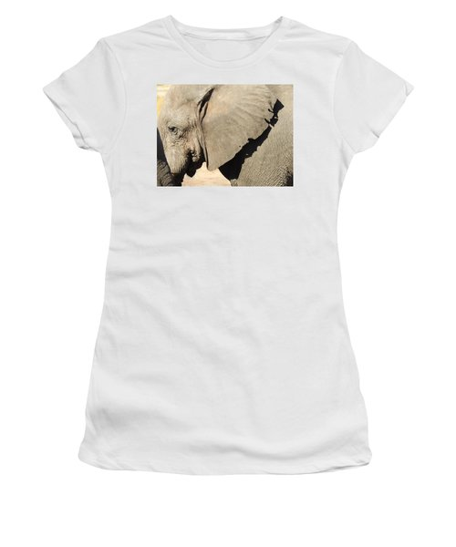 Women's T-Shirt (Junior Cut) featuring the photograph The Weathered Look by Betty-Anne McDonald