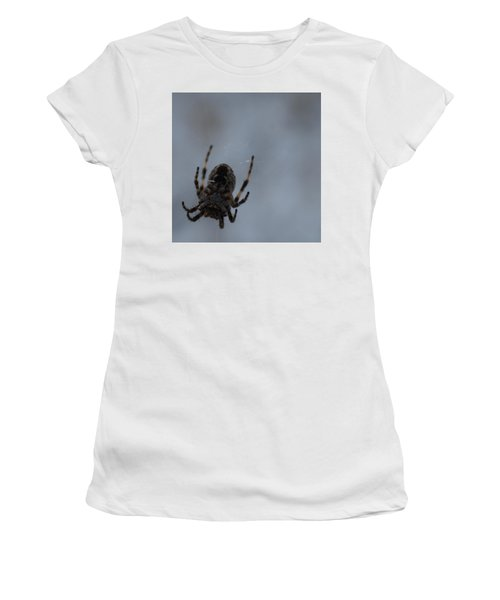 Women's T-Shirt (Junior Cut) featuring the photograph The Webs We Weave by Ramona Whiteaker