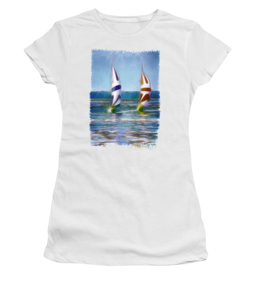 The Wind In Your Sails Women's T-Shirt (Athletic Fit)
