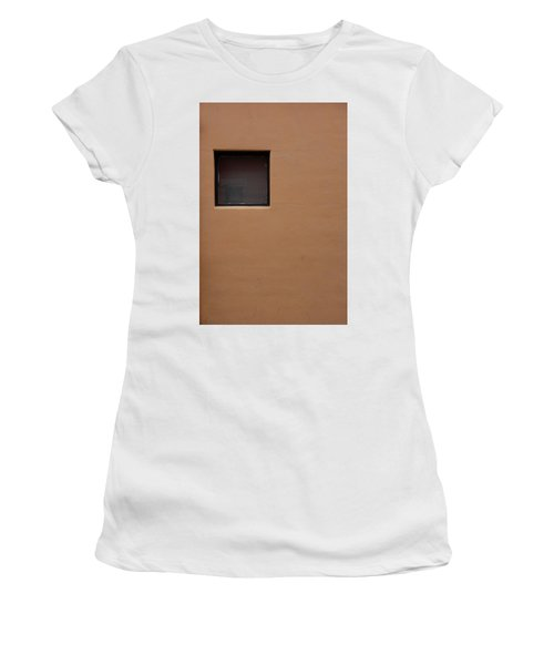 The Window Women's T-Shirt (Junior Cut) by Monte Stevens