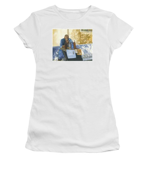 The Wineseller Women's T-Shirt (Junior Cut) by Marlene Book