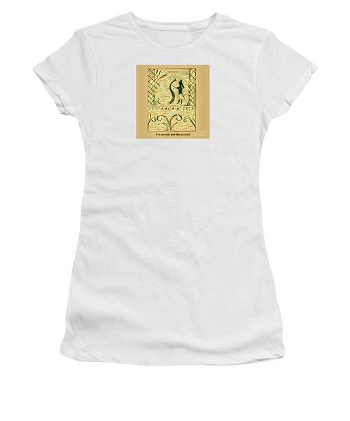 The Woman And The Serpent Women's T-Shirt