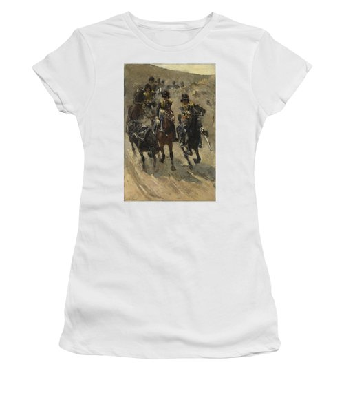 The Yellow Riders, George Hendrik Breitner, 1885 - 1886 Women's T-Shirt (Athletic Fit)