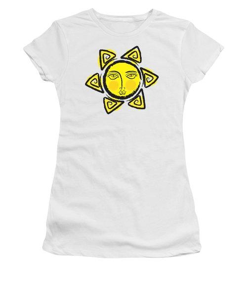 The Yellow Sun.. Png Women's T-Shirt