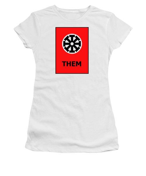 Them Women's T-Shirt (Junior Cut) by Richard Reeve