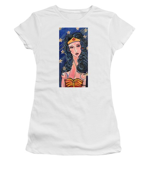 There's A Wonder Woman In Us All Women's T-Shirt