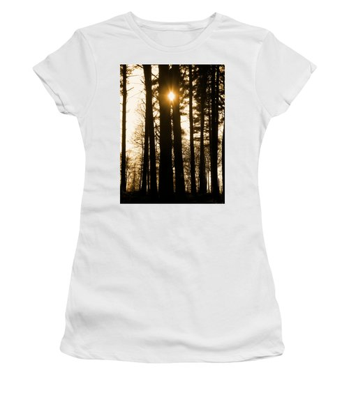 There's Always The Sun Women's T-Shirt (Athletic Fit)
