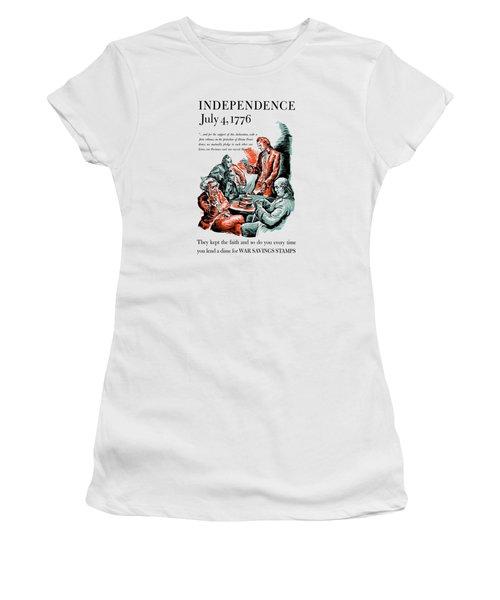 They Kept The Faith - Ww2 Women's T-Shirt