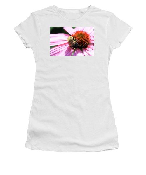 Think Bees Women's T-Shirt (Junior Cut) by Paula Guttilla