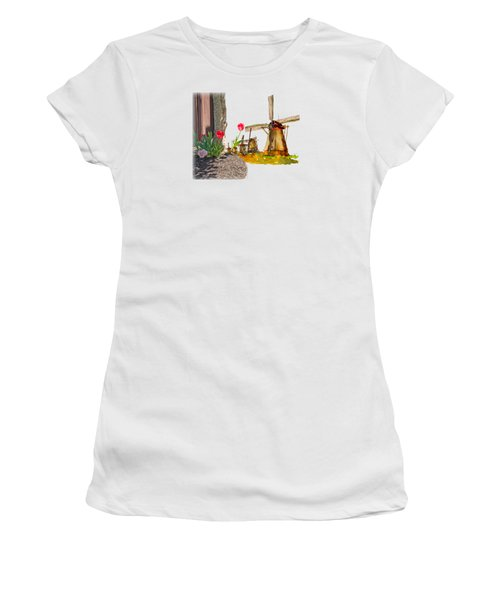 Thinkin Bout Home Women's T-Shirt (Junior Cut) by Larry Bishop