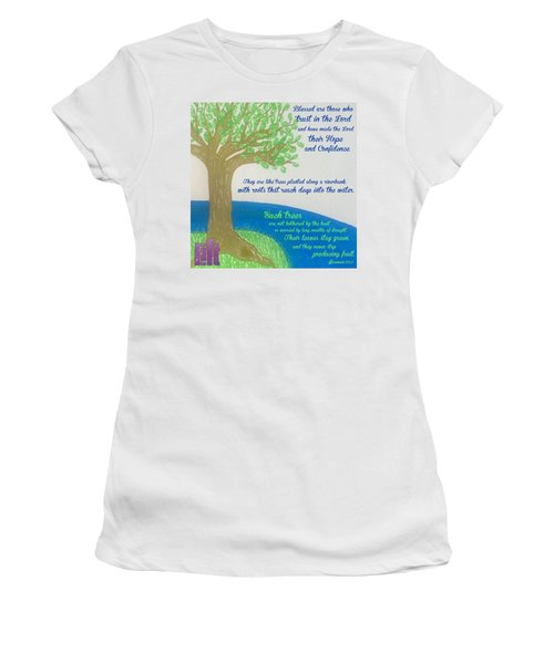 """This Is What The Lord Says: """"cursed Women's T-Shirt"""