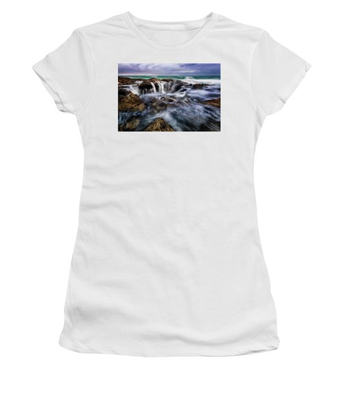 Thor's Well Women's T-Shirt (Athletic Fit)