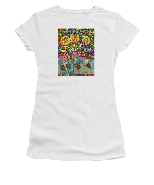Three Ballerinas Women's T-Shirt