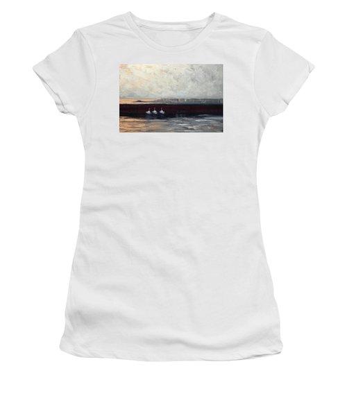 Three Boats Women's T-Shirt