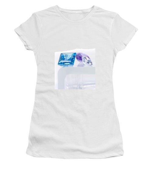 Three Jewel Women's T-Shirt (Athletic Fit)