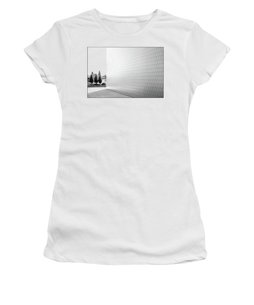 Three Trees And A Wall Women's T-Shirt