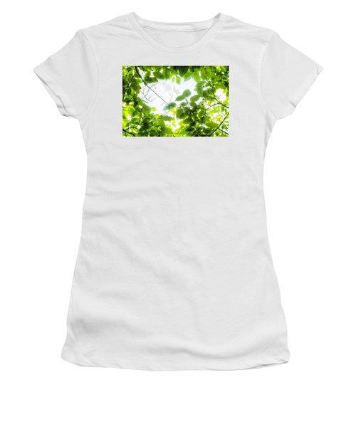Through The Leaves Women's T-Shirt