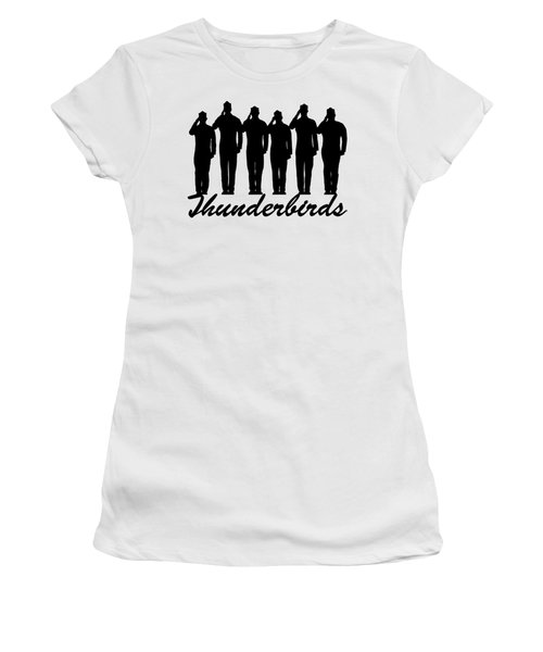 Thunderbirds Pilots Women's T-Shirt (Athletic Fit)