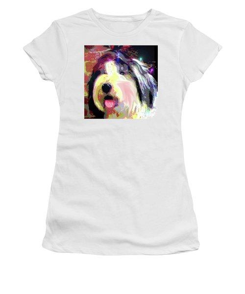 Tia Women's T-Shirt (Junior Cut) by Alene Sirott-Cope