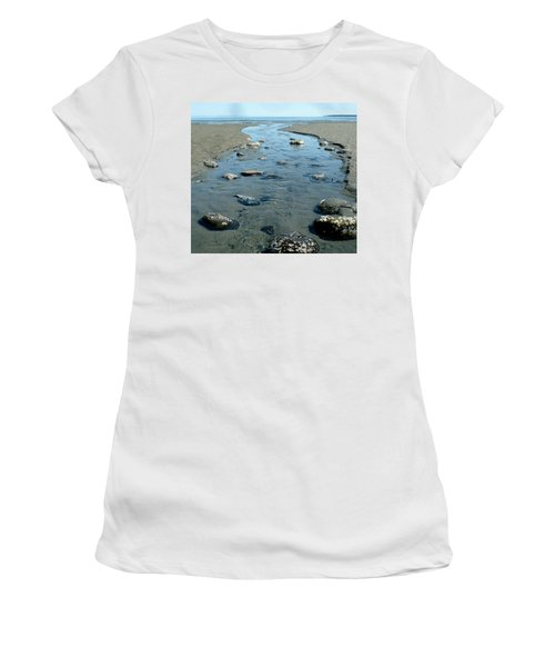 Women's T-Shirt featuring the photograph Tidal Pools by 'REA' Gallery