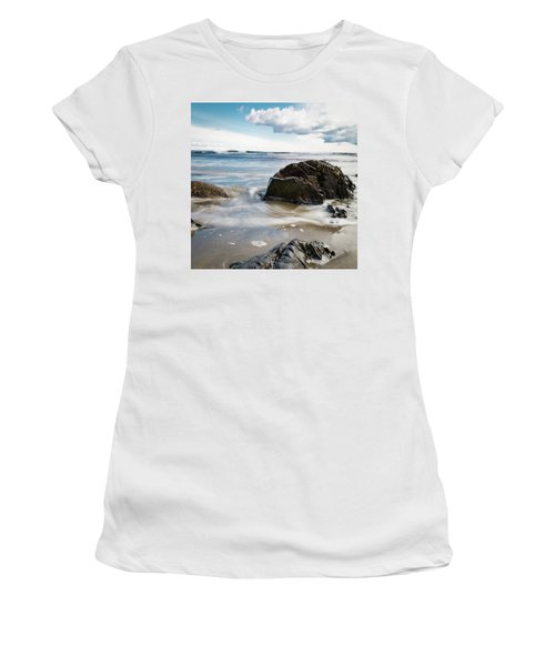 Tide Coming In #2 Women's T-Shirt (Athletic Fit)